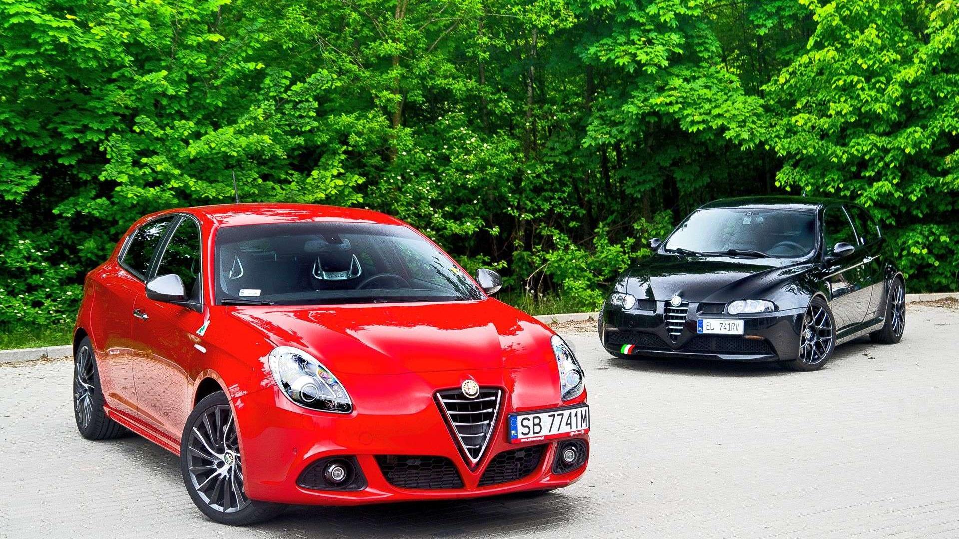 Alfa Romeo Giulietta QV TCT & Alfa Romeo 147 GTA charakterne