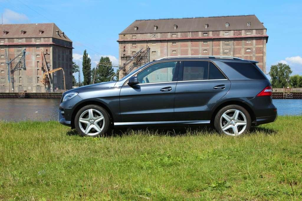 Mercedes benz ml suv nie tylko na asfalt for Mercedes benz na