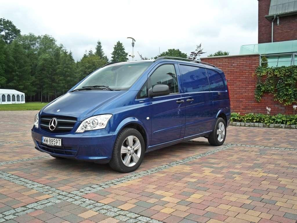 mercedes benz vito 110 cdi blueefficiency dobry pracownik. Black Bedroom Furniture Sets. Home Design Ideas