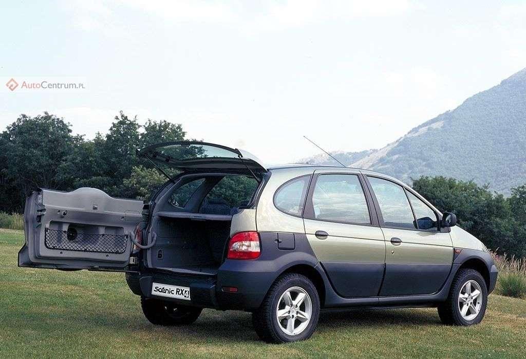 Minivanosuv Renault Scenic Rx4 Autocentrum Pl
