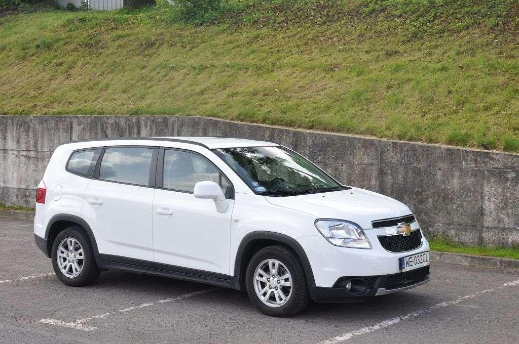 Zaktualizowano 7-osobowy minivan w cenie kompaktu - Chevrolet Orlando YS66
