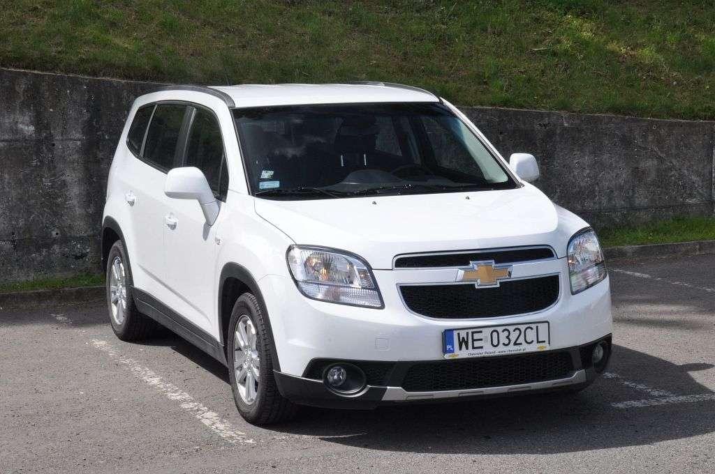 Góra 7-osobowy minivan w cenie kompaktu - Chevrolet Orlando KX39