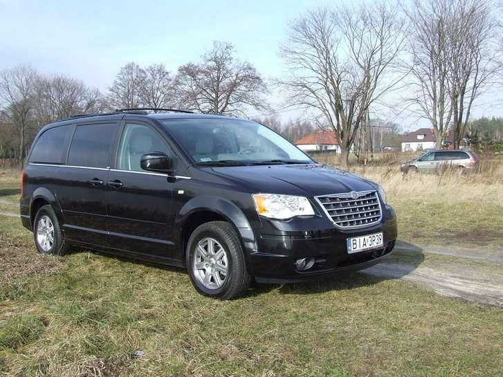 Nowy Chrysler Grand Voyager czyli Town&Country