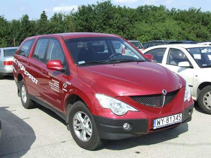 ssangyong actyon sport kontrowersyjny pick up. Black Bedroom Furniture Sets. Home Design Ideas