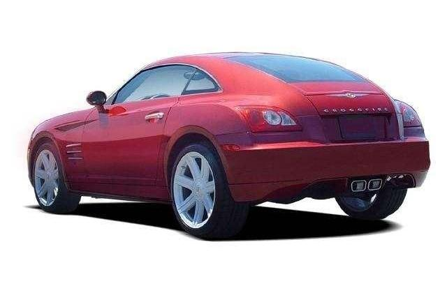 Chrysler Crossfire - och ten zadek...