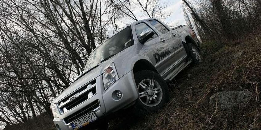 Pick-up po japońsku - ISUZU D-MAX