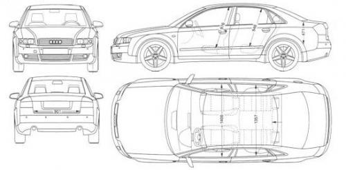 Audi A4 B6 Sedan Dane Techniczne Autocentrumpl
