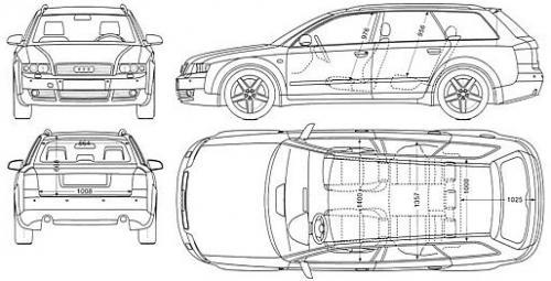Audi A4 B6 Avant Dane Techniczne Autocentrumpl