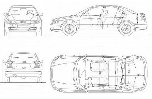 Audi A4 B5 Sedan Dane Techniczne Autocentrumpl
