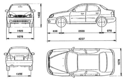 daewoo lanos sedan  u2022 dane techniczne  u2022 autocentrum pl