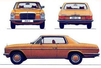 Mercedes Strich 8 Coupe W114