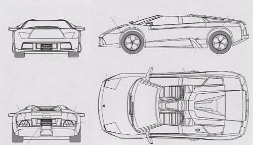 lamborghini murcielago cabrio dane techniczne. Black Bedroom Furniture Sets. Home Design Ideas
