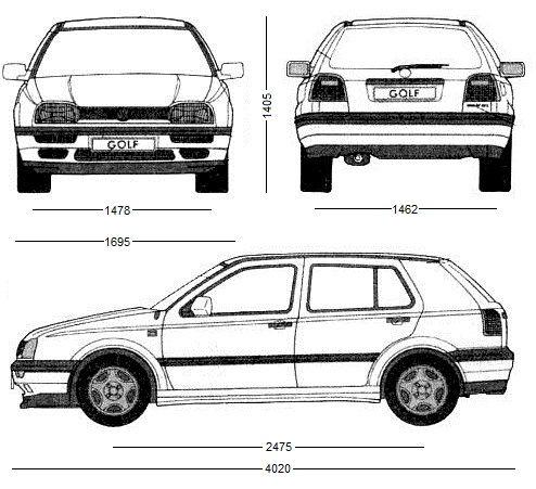 Volkswagen Golf III Hatchback • Dane techniczne • AutoCentrum.pl
