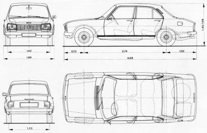 Peugeot 504 Modele Dane Silniki Testy Autocentrum Pl