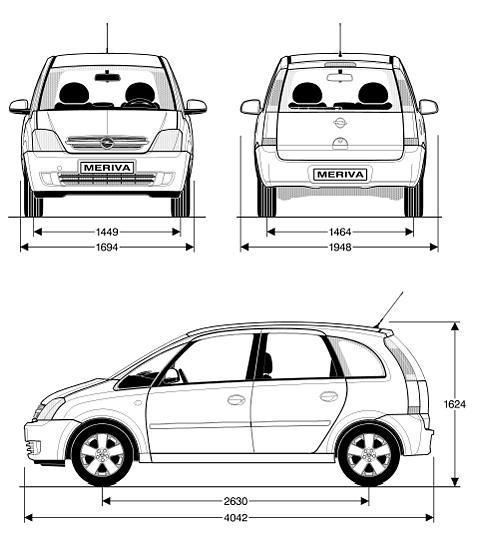 Opel Meriva I Dane Techniczne Autocentrum Pl