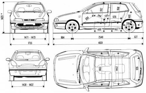Fiat Bravo I Dane Techniczne Autocentrum Pl