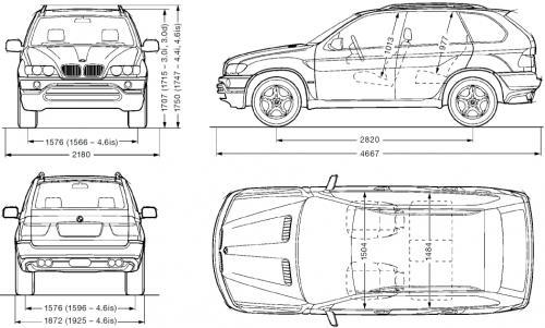 Bmw X5 E53 Dane Techniczne Autocentrum Pl