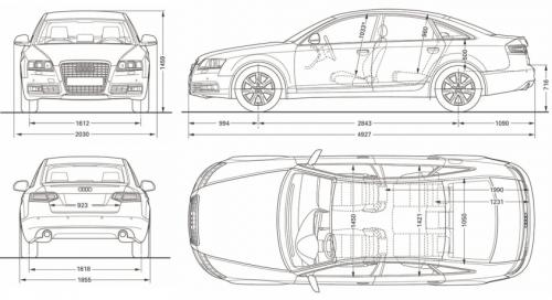 audi a6 c6 limousine  u2022 dane techniczne  u2022 autocentrum pl