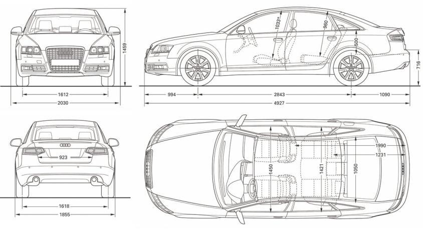 Audi A6 C6 Limousine Dane Techniczne Autocentrum Pl