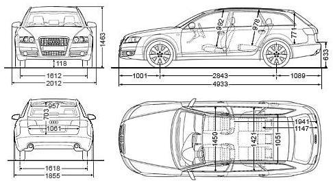 Audi A6 C6 Avant Dane Techniczne Autocentrumpl