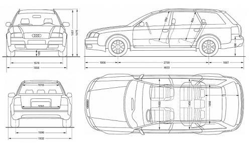 Audi A6 C5 Avant Dane Techniczne Autocentrumpl