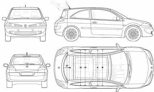 renault megane ii hatchback  u2022 dane techniczne  u2022 autocentrum pl