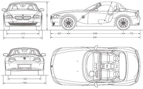 Bmw Z4 E85 Cabrio Dane Techniczne Autocentrum Pl