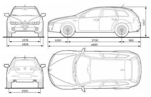 alfa romeo 159 sportwagon  u2022 dane techniczne  u2022 autocentrum pl