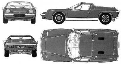Lotus Europa I Coupe
