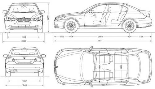 Bmw Seria 5 E60 Sedan Dane Techniczne Autocentrum Pl