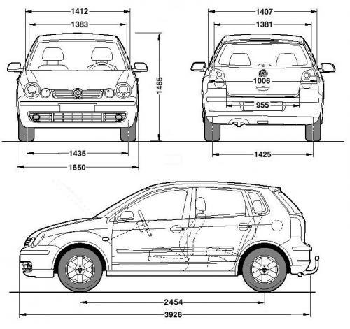 Hatchback on Volkswagen Fox