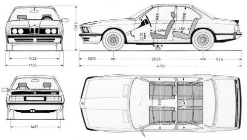 bmw seria 6 e24  u2022 dane techniczne  u2022 autocentrum pl