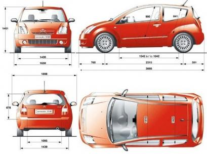 Citroen C2 Hatchback 3d