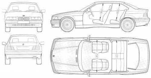 Bmw Seria 3 E36 Coupe Dane Techniczne Autocentrumpl