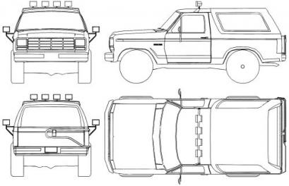 Ford Bronco III Terenowy