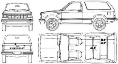 Chevrolet S-10 I Pick Up