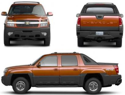Chevrolet Avalanche GMT 800 Pick Up