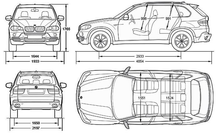 BMW X5 E70 SUV • Dane techniczne • AutoCentrum.pl