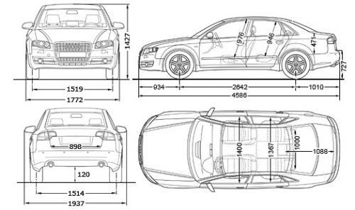 Audi A4 B7 Sedan Dane Techniczne Autocentrumpl