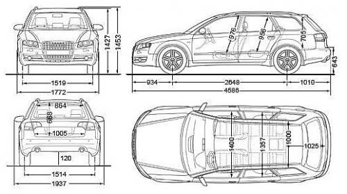 Audi A4 B7 Avant Dane Techniczne Autocentrumpl