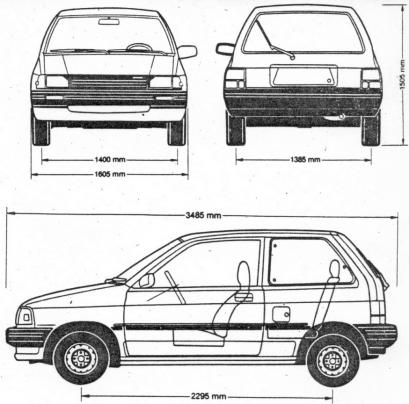 Ford Festiva Hatchback