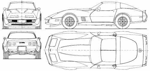 chevrolet corvette c3 coupe  u2022 dane techniczne  u2022 autocentrum pl