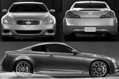 Infiniti G G37 Sedan Facelifting