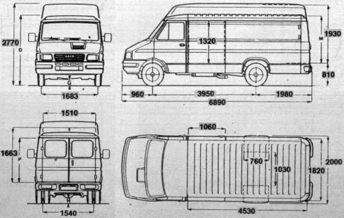 Poważnie Iveco Daily II • Dane techniczne • AutoCentrum.pl YW58