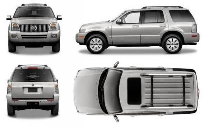 Mercury Mountaineer Terenowy