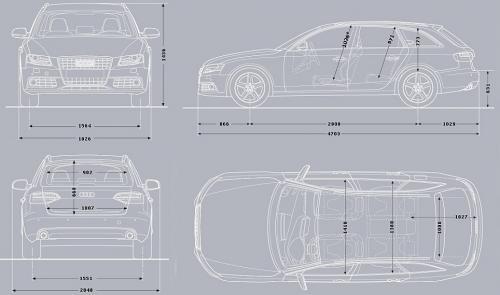Audi A4 B8 Avant Dane Techniczne Autocentrumpl