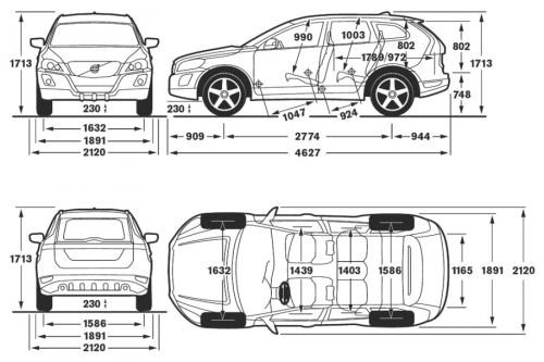 volvo xc60 i suv  u2022 dane techniczne  u2022 autocentrum pl