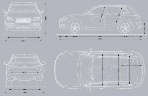 Audi Q5 I Suv Dane Techniczne Autocentrum Pl
