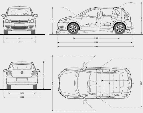 volkswagen polo v hatchback 5d  u2022 dane techniczne