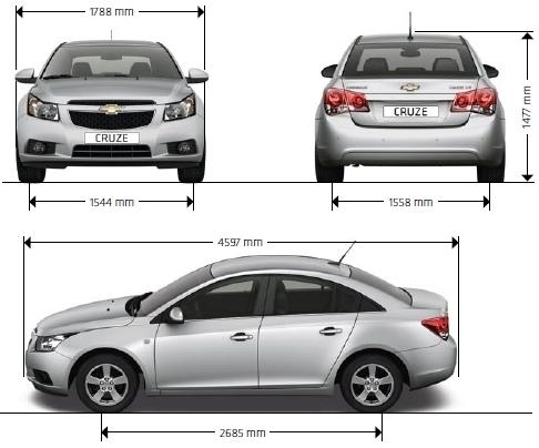Chevrolet Cruze Sedan Dane Techniczne Autocentrum Pl